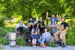 das Team vom Bierol Brauerei, Taproom & Restaurant